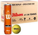 WILSON ТЕННИСНЫЕ МЯЧИ TOUR CLAY RED (72 BALL)